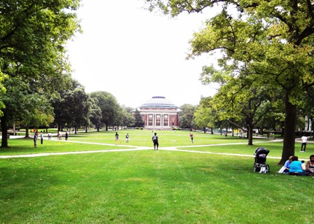 The Quad at University of Illinois Champaign-Urbana